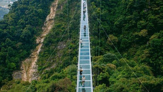 云台山风景区玻璃吊桥:最新效果图曝光!